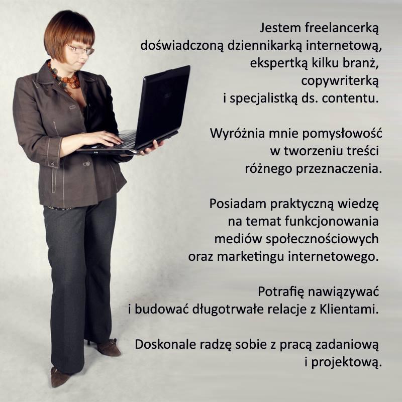 Lena Murawska, redaktor treści internetowych