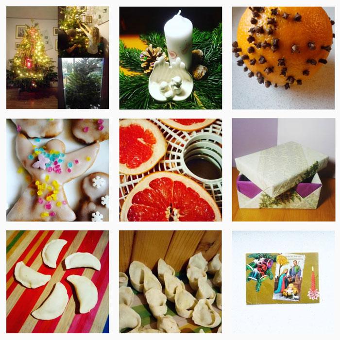 blogmas, święta na instagramie